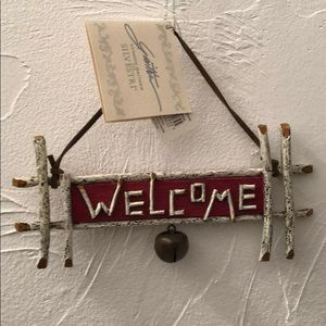 Welcome ornament